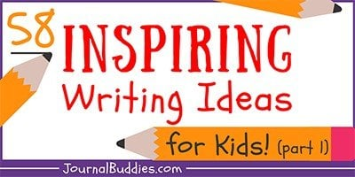 Writing Inspiration Prompts for Kids