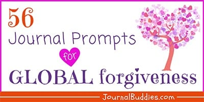 Journal Prompts about Global Forgiveness