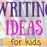 Kids Writing Idea List