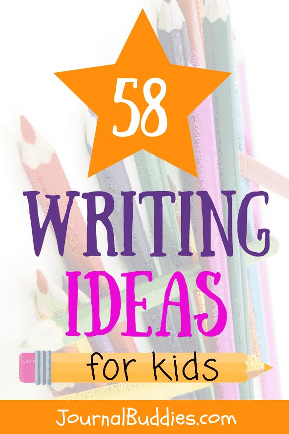 Kids Writing Ideas to Inspire