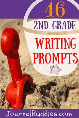 Inspire your 2nd grade writers with this list of journal prompts and writing ideas shared by one of our Journal Buddies readers!