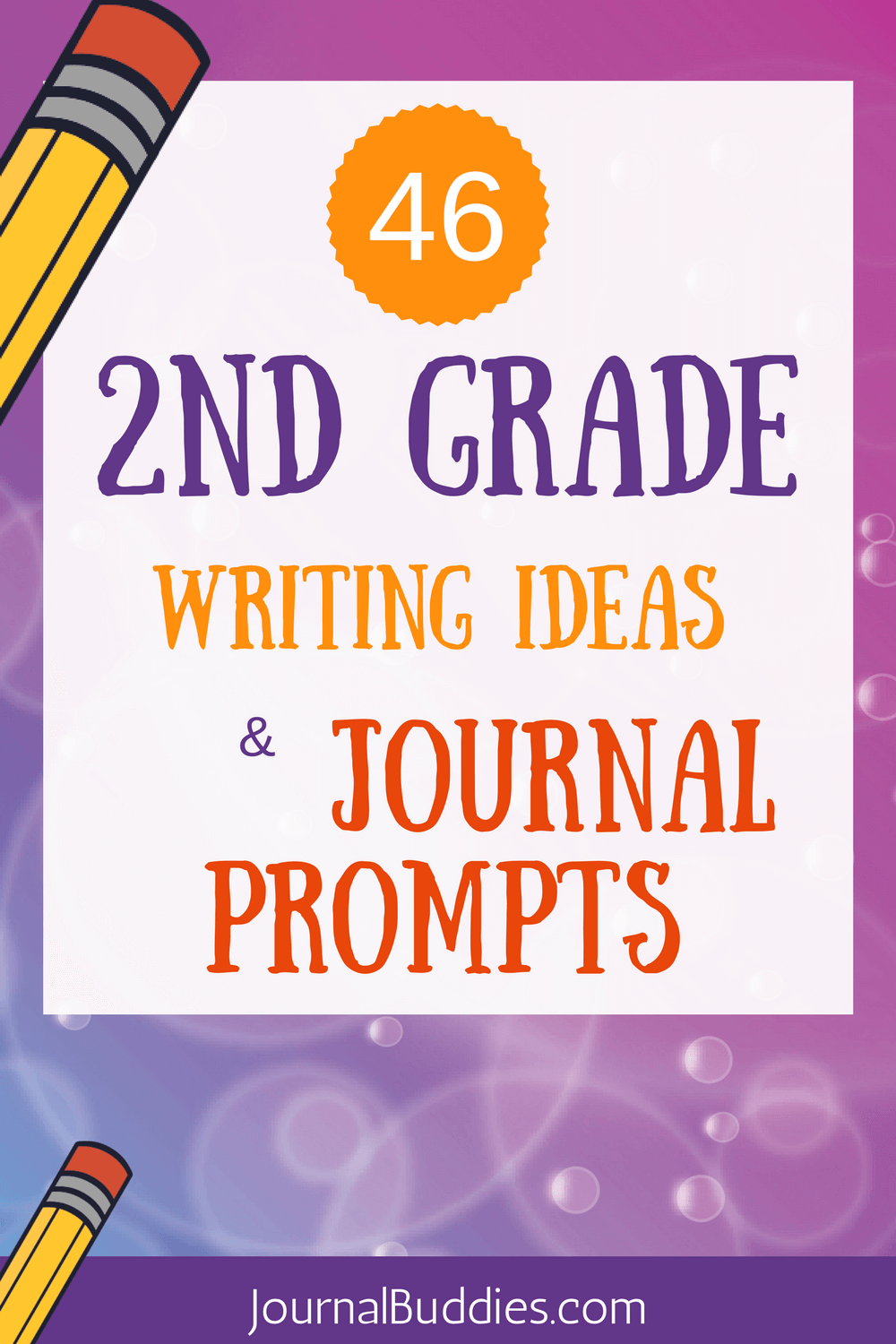 Take a look! These 2nd-grade writing ideas and journal are sure to ignite your students' imaginations!
