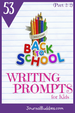 Go back to school the right way with these new journal prompts, and watch as your students get creative with their plans for the upcoming year!
