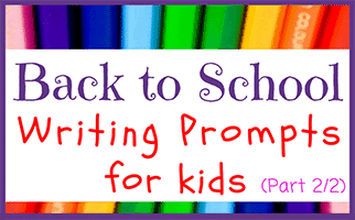 53 Journal Prompts for Kids -- Back to School (Pt 2/2)