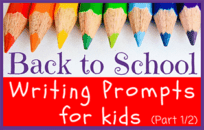 57 Journal Prompts for Kids -- Back to School (Pt 1/2)