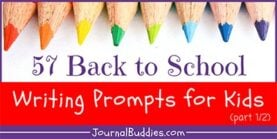 57 Back to School Prompts for Kids