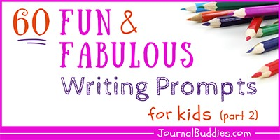 Fun Journal Prompts for Students