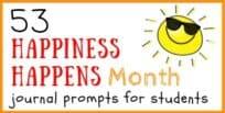 Happiness Happens Journal Prompts