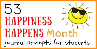 Happiness Happens Journal Prompts