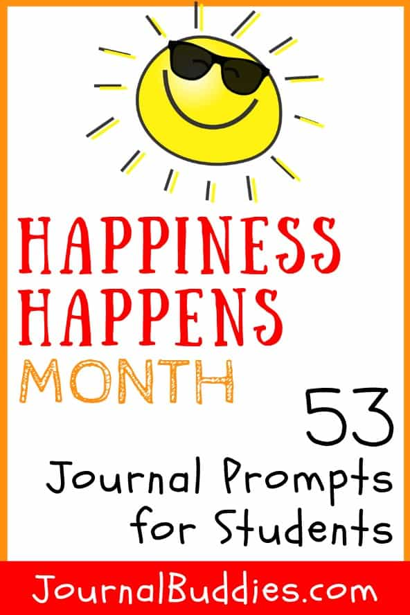 Journal Prompts for Happiness Happens Month