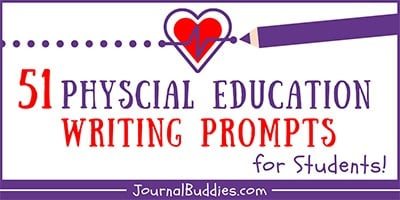 Physical Education Writing Prompts