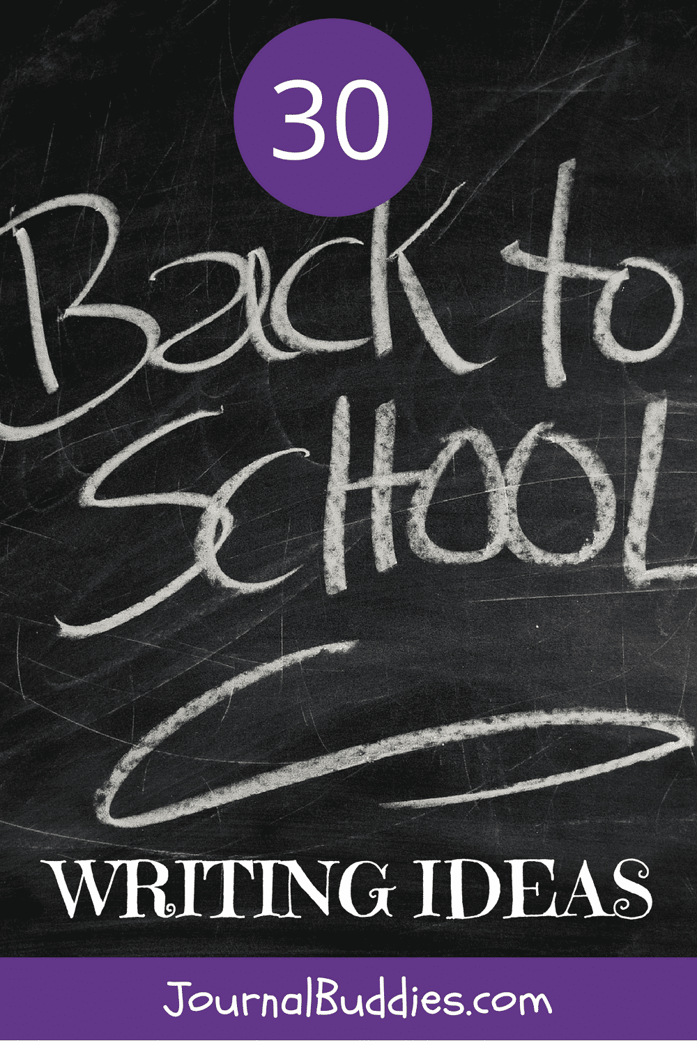 This list of back to school writing ideas for kids provides some guidance as to what to write about as they embark on a new school year.