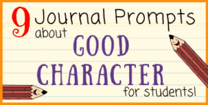 Good Character Writing Prompts