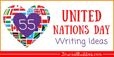 Writing Prompts for United Nations Day