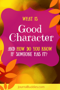 What is Good Character?