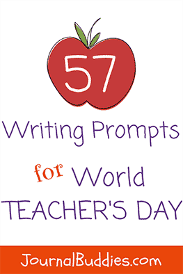 World Teacher's Day Writing Prompts for Students