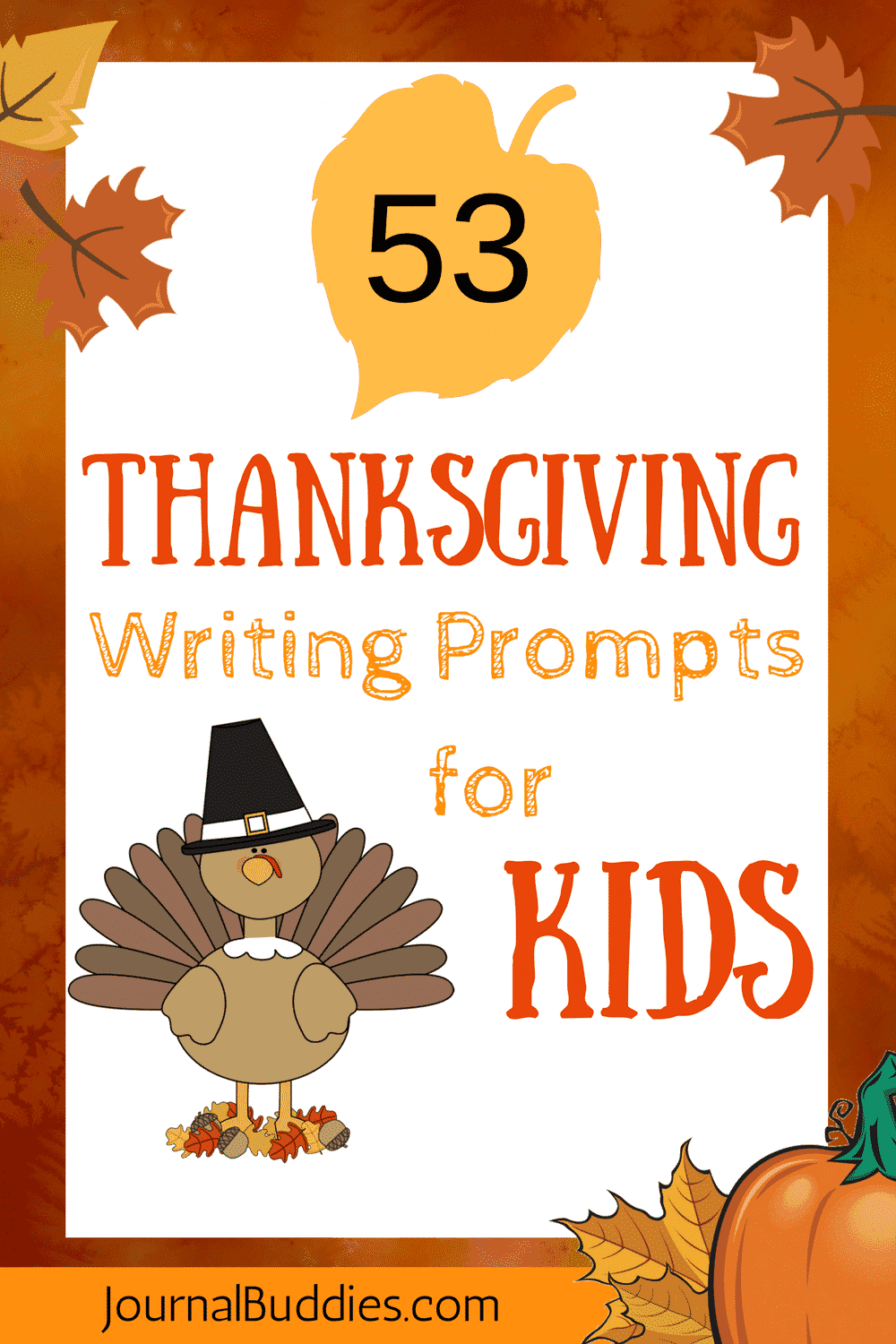 53 Thanksgiving Journal Prompts