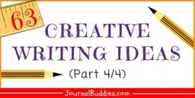 63 Creative Writing Prompts (Part 4/4)