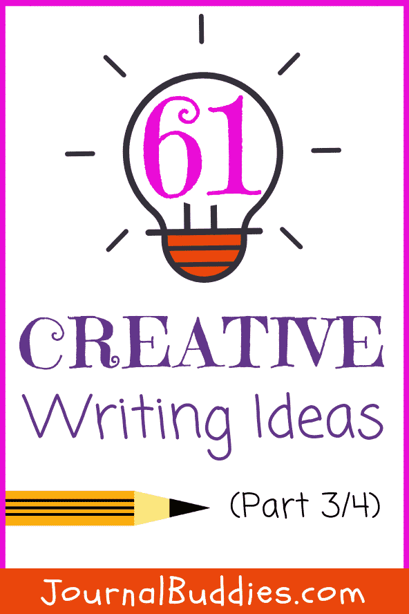 Fuel your student's curiosity with this series of all new creative writing prompt ideas for youngsters