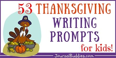 Kids Thanksgiving Themed Journal Ideas