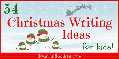 Kids Christmas Writing Prompts