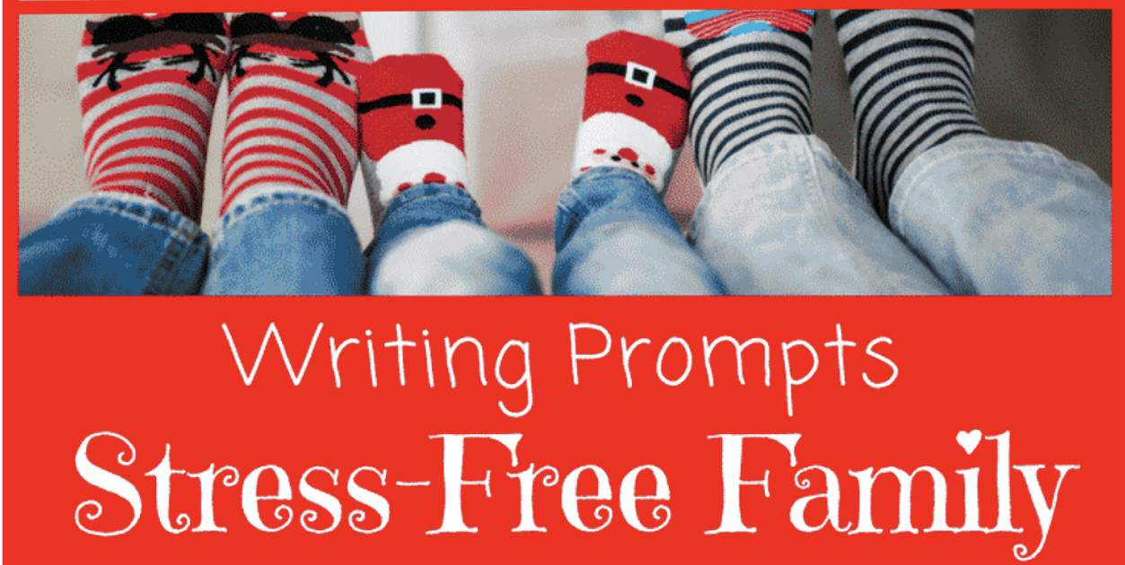 Read this! You can reduce holiday stress and pressure and make the holidays more enjoyable for everyone with these 52 stress-busting journal prompts.