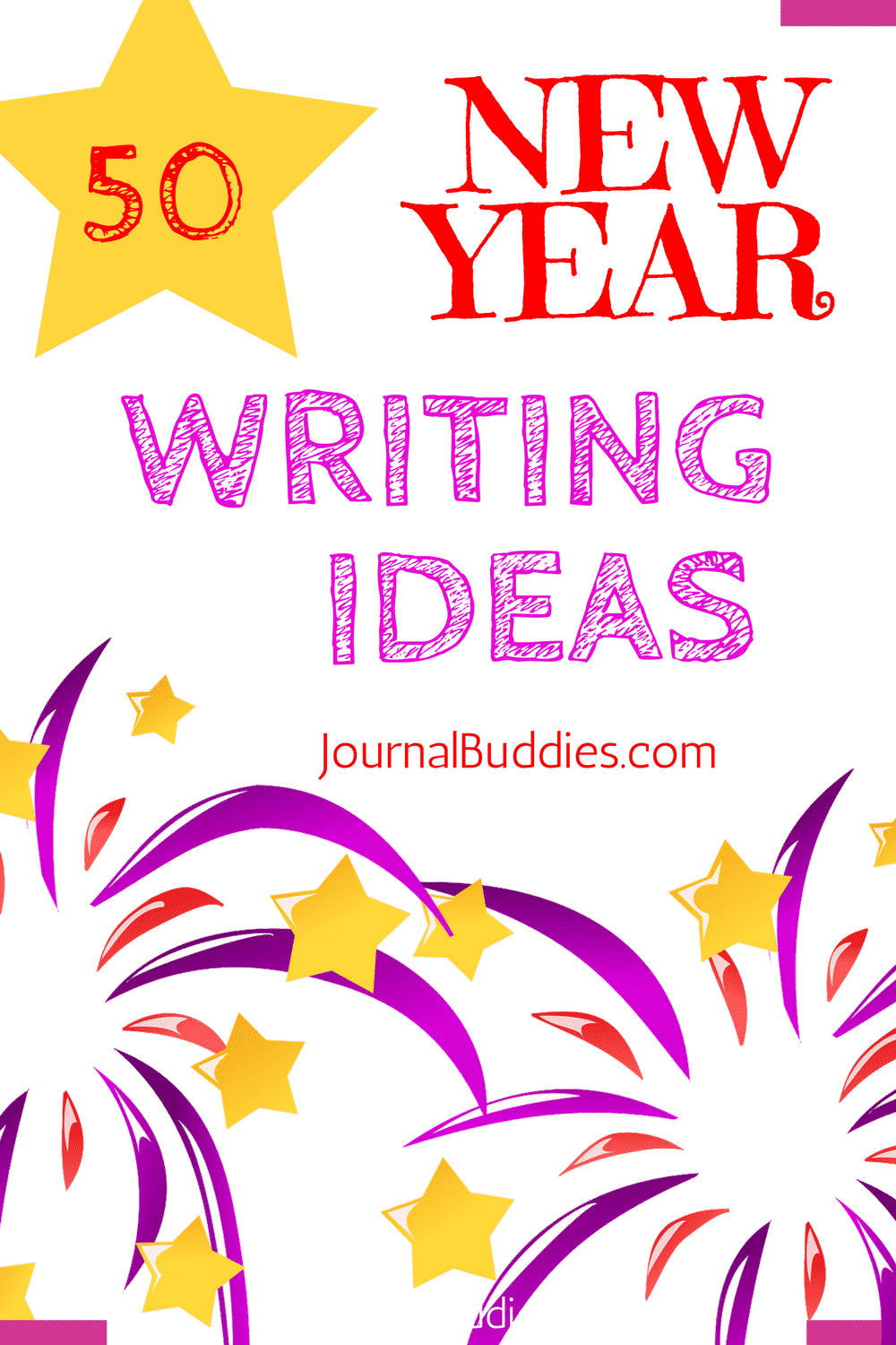 New Years Writing Ideas for Kids