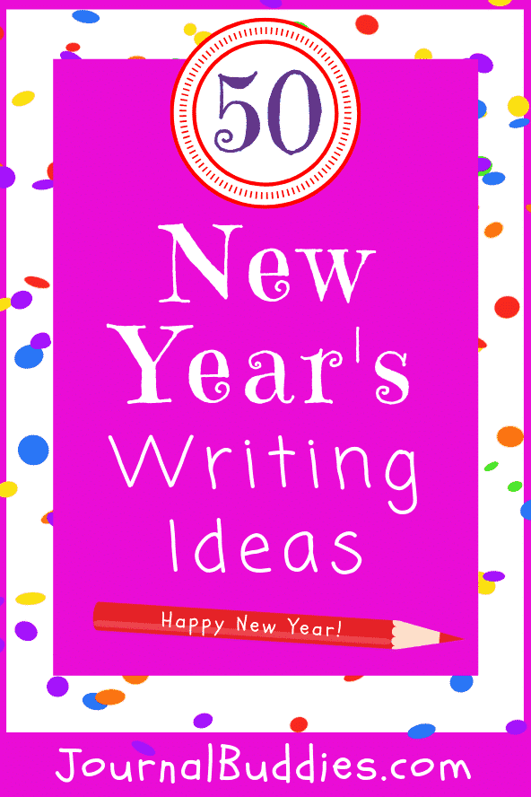 New Year's Writing Ideas for Students