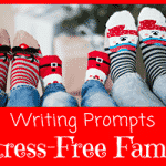 Writing Prompts for National Stress-Free Family Holiday Month