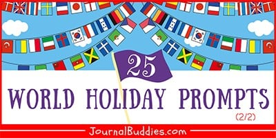 Journal Prompts about World Holidays
