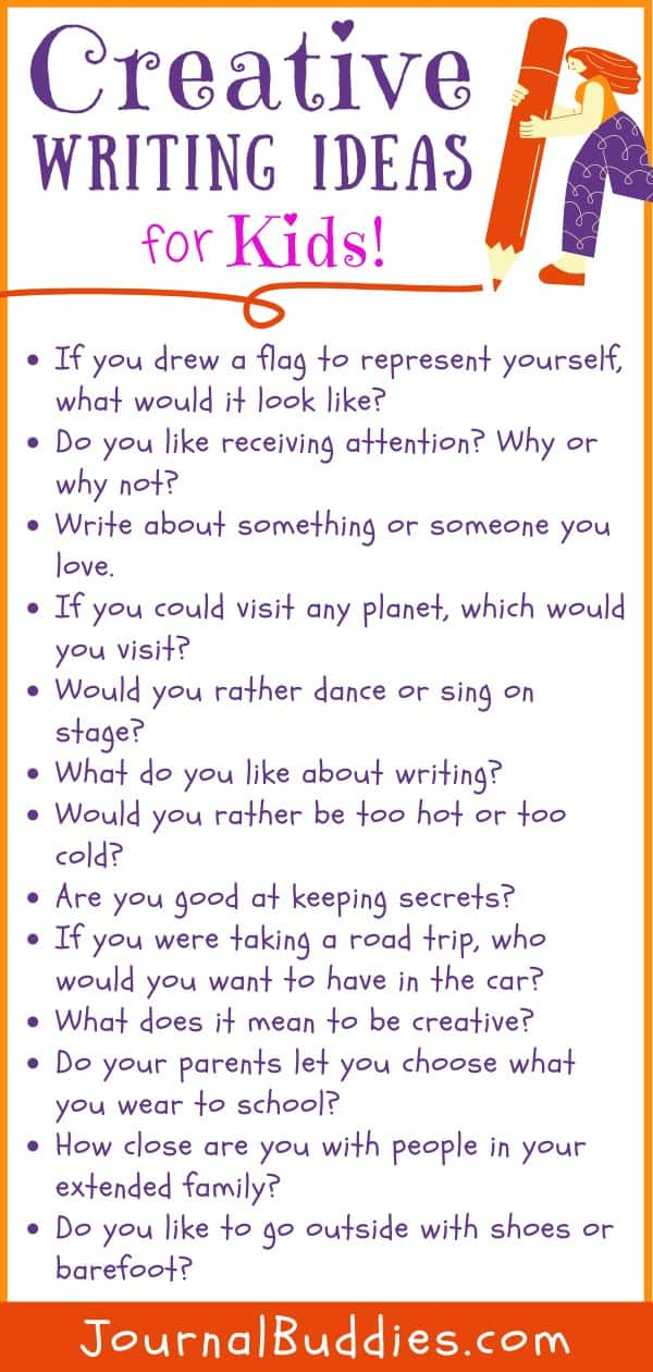 Kids Creative Writing Ideas
