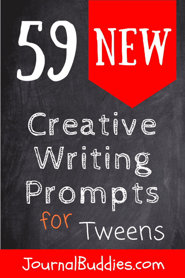 Help your students understand the importance and value of their own ideas with these creative writing prompts for tweens.