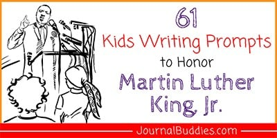 MLK Writing Prompts