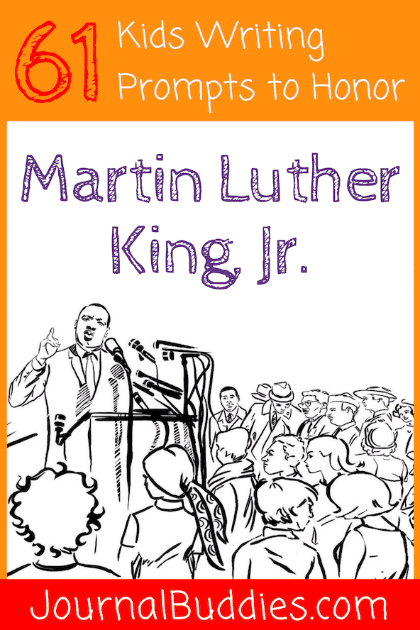 With these new kids writing prompts, students will expand their understanding of Dr. King and deepen their respect for his work and its lasting effect on humanity.