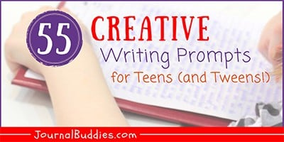 Journal Prompts for Teens (and Tweens)