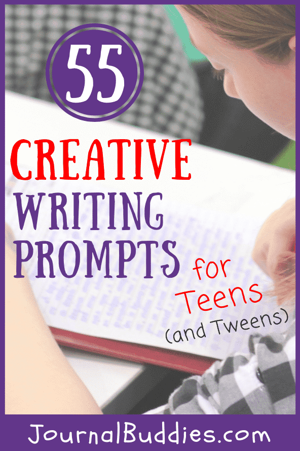 Creative Writing Ideas for Teens and PreTeens