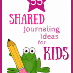 Shared journaling is a great way to develop a closer bond with your child. Use these prompts to reflect on the places you've been & the places you'll go.