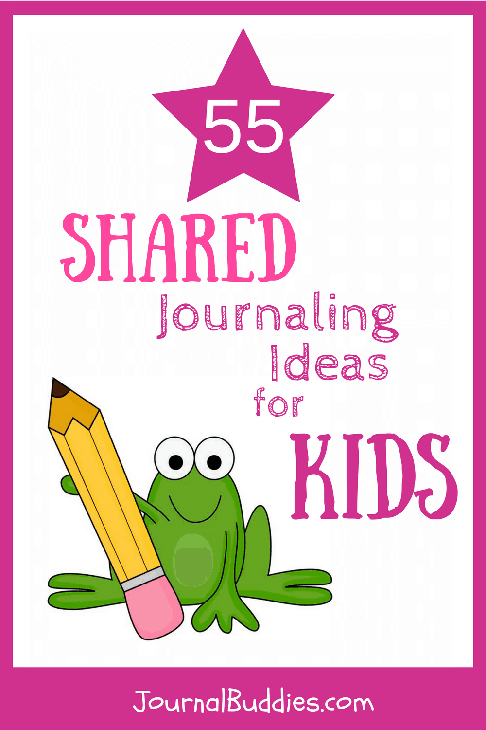 In these 55 new journal prompts, you and your child can answer questions together and discuss the similarities and differences in your responses.