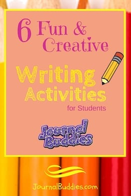 Read and learn about six fabulous creative writing activities you can share with your kids.Students may be hesitant at first to participate in some of these activities, but if they join in on the fun there is no doubt that their creative writing juices will flow!