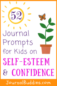In these 52 new journal prompts, children are encouraged to reflect on the positive aspects of their lives.
