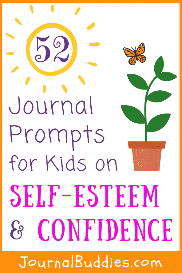 Journal Prompts for Kids on Self Esteem and Confidence