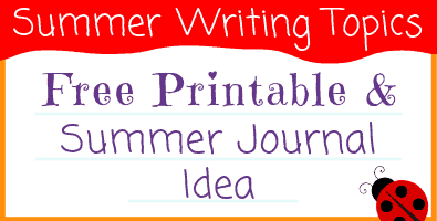 Summer Writing Topics