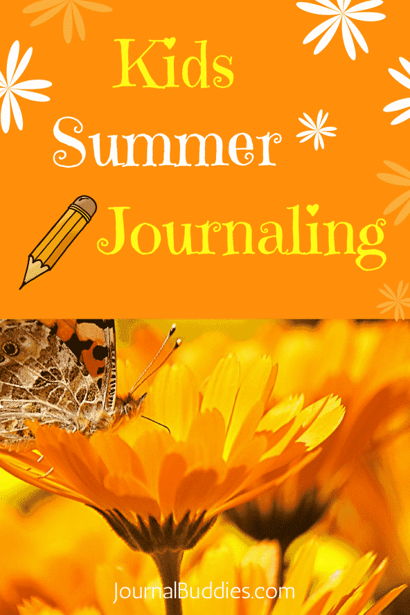 Kids Summer Journaling