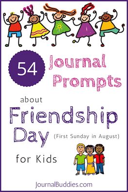 54 Friendship Day Journal Prompts for Students