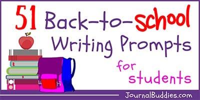 Kids Back to School Writing Ideas