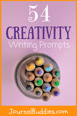 Special prompts with creative ideas also inspire them to begin writing and to come up with new thoughts and solutions. As kids write and reflect on the search for inspiration and the importance of creativity, they'll find fresh ideas inside that they never knew they had.