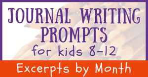 Journal Prompts for Age 8-12