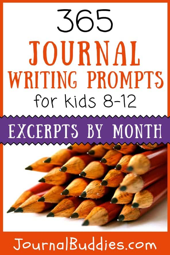 This exciting new list of 365 prompts will take kids through an entire year of fun, reflective journaling! With a prompt for every day, kids will be regular writers and confident in expressing their ideas by the end of the year!