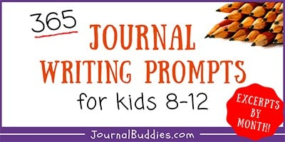 Journal Prompts for Kids by Month