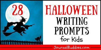 Halloween Themed Writing Ideas for Kids